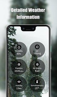 Camp Weather - snímek obrazovky