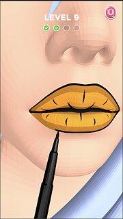 Lip Art 3D - snímek obrazovky