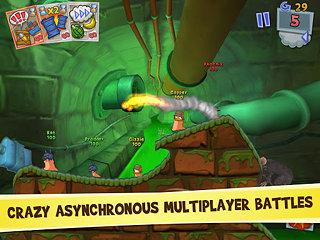 Worms 3 - snímek obrazovky