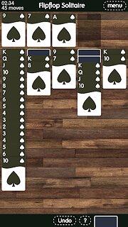Flipflop Solitaire - snímek obrazovky