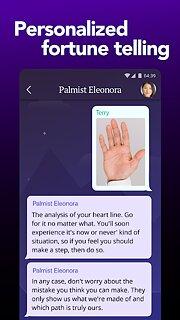 FortuneScope: live palm reader and fortune teller - snímek obrazovky