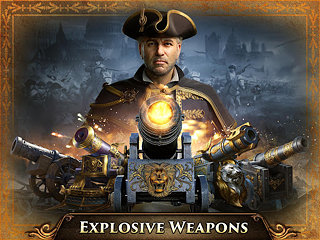 Guns of Glory - snímek obrazovky
