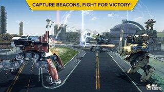 War Robots Multiplayer Battles - snímek obrazovky