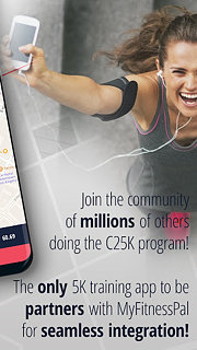 C25K® - 5K Running Trainer - snímek obrazovky