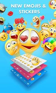 Smiley Emoji Keyboard 2018 - Cute Emoticons - snímek obrazovky