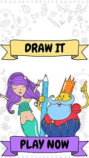 Draw it - snímek obrazovky