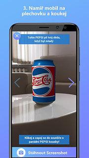 ARnie - Augmented Reality - snímek obrazovky