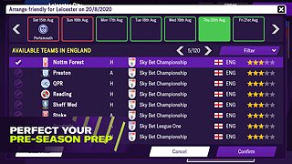 Football Manager 2021 Mobile - snímek obrazovky