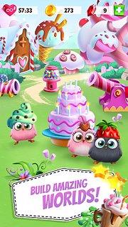 Angry Birds Match - snímek obrazovky
