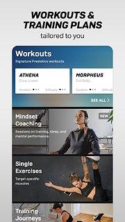 Freeletics Training Coach – Bodyweight & Mindset - snímek obrazovky