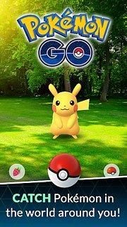 Pokémon GO - snímek obrazovky