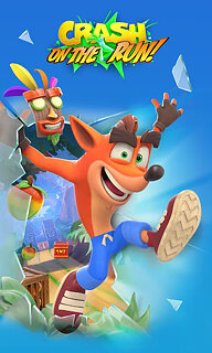 Crash Bandicoot: On the Run! - snímek obrazovky