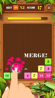 Drag n Merge: Block Puzzle - snímek obrazovky
