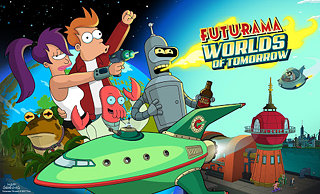 Futurama: Worlds of Tomorrow - snímek obrazovky
