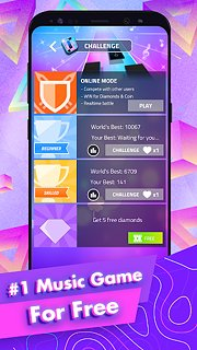 Magic Tiles 3 - snímek obrazovky