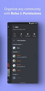 Discord - Talk, Video Chat & Hang Out with Friends - snímek obrazovky