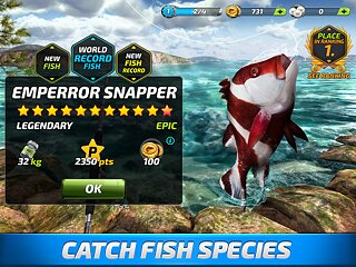 Fishing Clash - snímek obrazovky