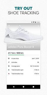 adidas Running by Runtastic - Fitness Run Tracker - snímek obrazovky