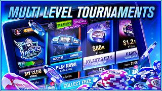 WSOP Poker - Texas Holdem - snímek obrazovky