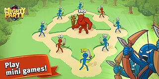 Mighty Party: Magic Arena - snímek obrazovky