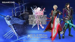 FINAL FANTASY  BRAVE EXVIUS - snímek obrazovky