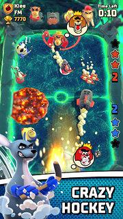Rumble Hockey - snímek obrazovky