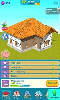 Idle Home Makeover - snímek obrazovky