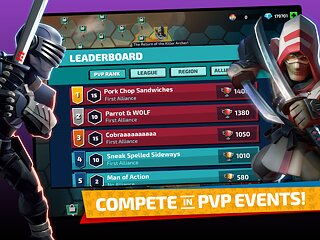 G.I. Joe: War On Cobra - Build. Fight. Conquer. - snímek obrazovky