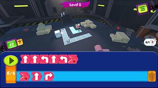 Rabbids Coding! - snímek obrazovky