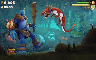Hungry Dragon - snímek obrazovky