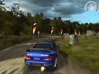 Rush Rally 3 - snímek obrazovky