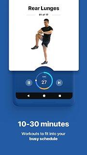 Fitify: Workout Routines & Training Plans - snímek obrazovky