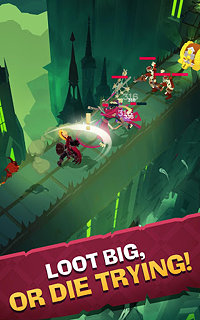 The Mighty Quest for Epic Loot - snímek obrazovky