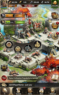 Clash of Kings :Eight Kingdoms Conflict - snímek obrazovky