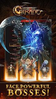 Celestial Crusade - AFK RPG - snímek obrazovky