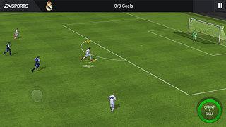 FIFA Mobile Football - snímek obrazovky