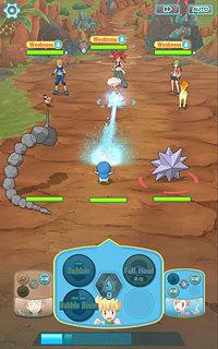 Pokémon Masters - snímek obrazovky