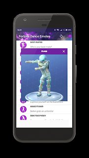 Dances from Fortnite (Dance Emotes) - snímek obrazovky