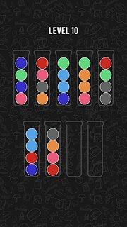 Ball Sort Puzzle - snímek obrazovky