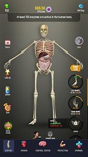Idle Human - snímek obrazovky