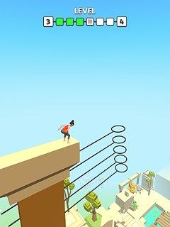 Flip Dunk - snímek obrazovky