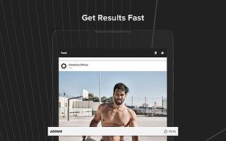Freeletics - Workout & Fitness. Body Weight App - snímek obrazovky
