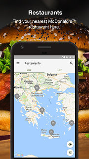 McDonald's - snímek obrazovky