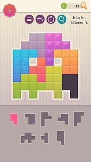 Polygrams - Tangram Puzzle Games - snímek obrazovky