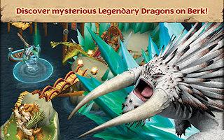 Dragons: Rise of Berk - snímek obrazovky