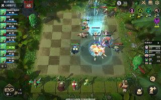 Auto Chess - snímek obrazovky