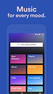 Spotify: Free Music Streaming - snímek obrazovky