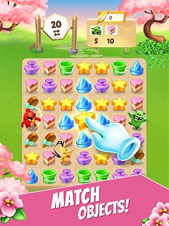 Angry Birds Match - Casual Puzzle Game - snímek obrazovky
