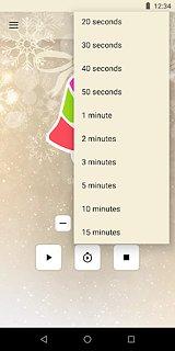 Xmas Bell - snímek obrazovky
