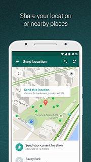 WhatsApp Messenger - snímek obrazovky